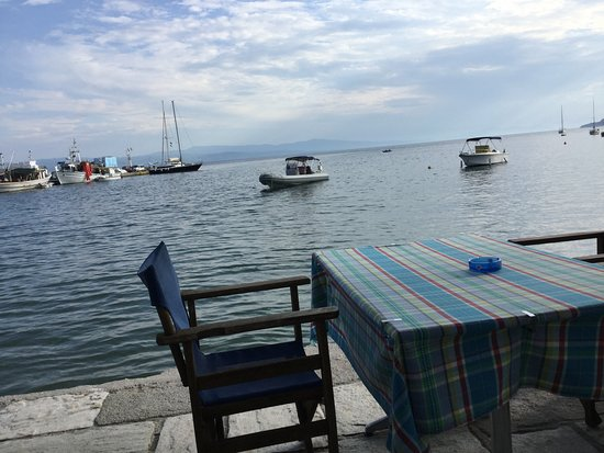 Platanidia, Греция: Restaurant