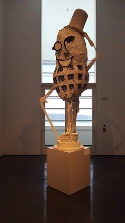 Figge Art Museum: Mr. Peanut
