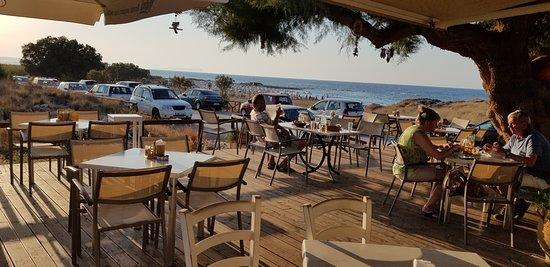 Hervorragendes, schlichtes Strandrestaurant