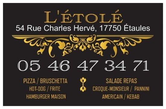 Etaules, França: carte de visite