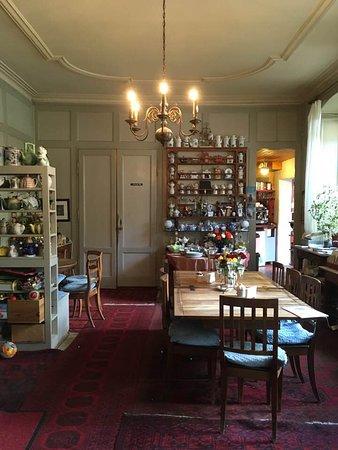Romainmotier, Suíça: le salon de thé