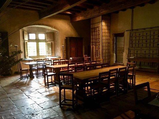 Romainmotier, Suíça: la salle des chevaliers