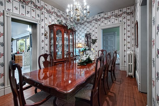 Milan, OH: One of Angel Welcome's formal Dining Rooms