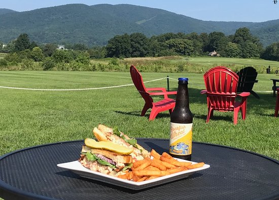 Restoration at Old Trail: Lunch with a view