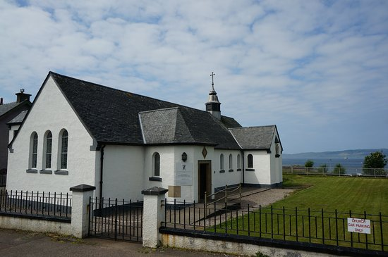 Mallaig, UK: the church