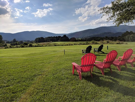 Restoration at Old Trail: Sit back and relax with a beautiful view of the Blue Ridge Mountains