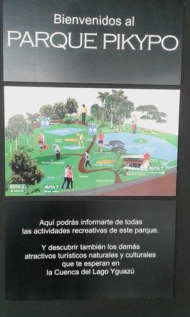 Colonia Yguazu, Paragwaj: Imagem do parque
