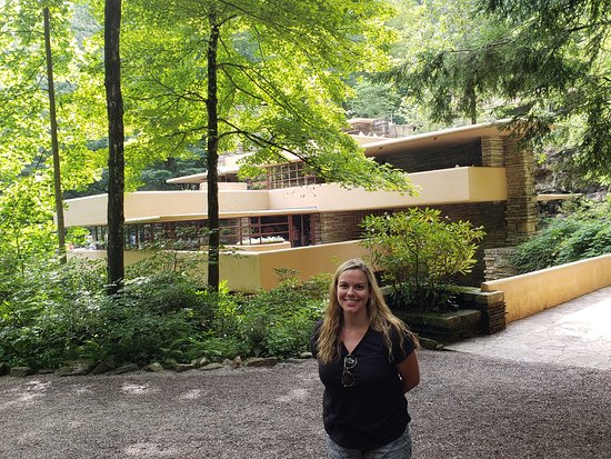 Fallingwater: Before the tour outside