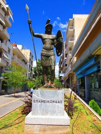 Tour Trip Greece: Epaminondas, Theban general, and vanquisher of the Spartans.
