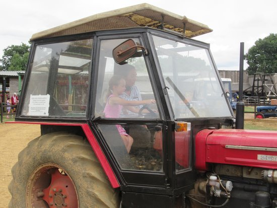 Verwood, UK: tractor driver
