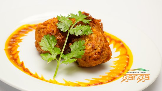 Seal, UK: Onion Bhaji