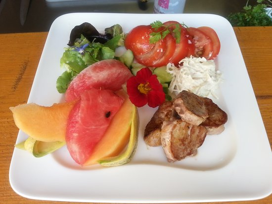 Beblenheim, France : Salade d'été