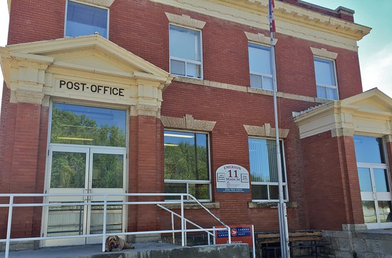 Emerson, Canada: Dominion  Post Office HIstoric Building