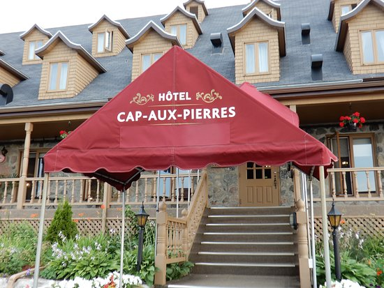 Saint-Louis-de-L'Isle-aux-Coudres, Kanada: ingresso hotel