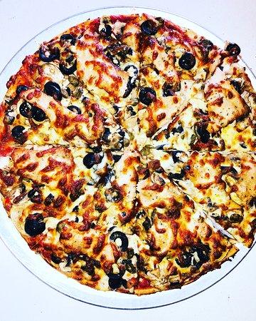 Bellavista Pizza & Pasta: Smoked salmon pizza