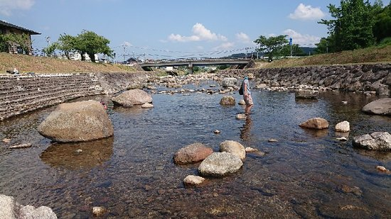 Maniwa, Giappone: 堰