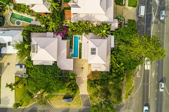 birdseye view of the villas and pool picture of aaman cinta rh tripadvisor com
