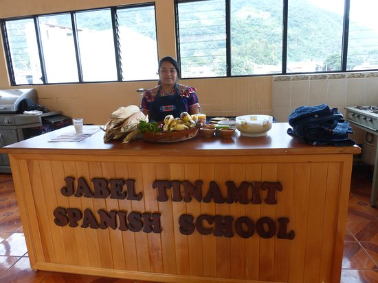 JABEL TINAMIT Spanish School: Cooking classes!