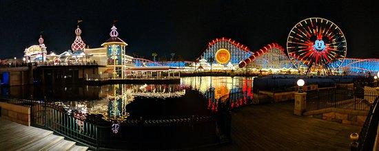 Disney California Serüveni: Panoramic of Pixar Pier