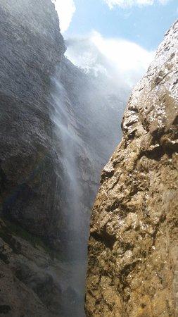 Falcade, Italia: La cascata alta