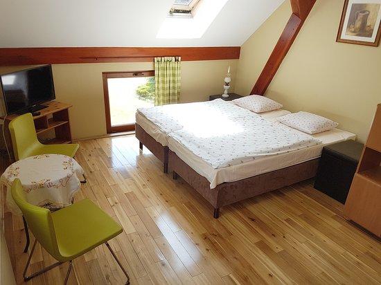 """Skwierzyna, Πολωνία: Pokój 3-osobowy """"Perełka"""" z łazienką, zlokalizowany na piętrze"""
