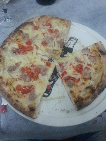 Boscoreale, إيطاليا: pizza porcini