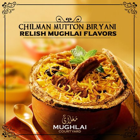 Stadtbereich Islamabad, Pakistan: Chilean Mutton Biryani at MUGHLAI Courtyard!
