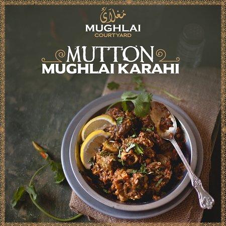Stadtbereich Islamabad, Pakistan: Mutton Mughlai Karahi at MUGHLAI Courtyard!