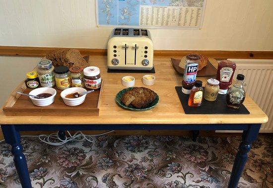Greenlea Bed and Breakfast: Breakfast Buffet