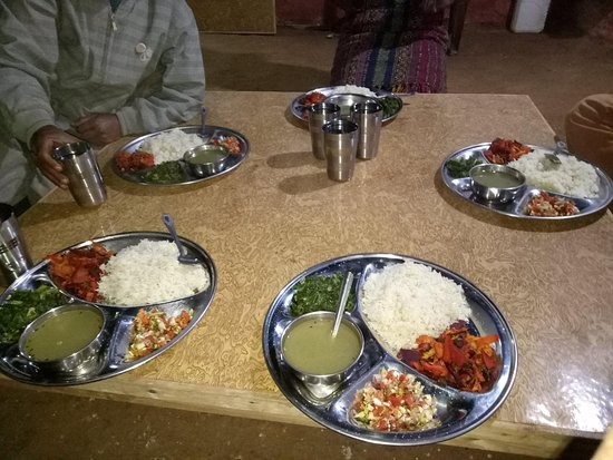 Bagmati Zone, Nepal: Home cooked Nepali food for breakfast, lunch, and dinner!