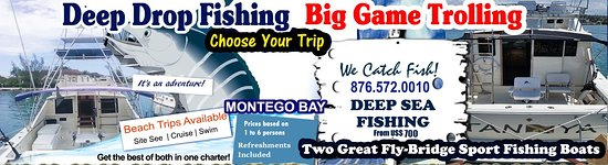 Montego Bay, Jamaica: Great Fishing Options