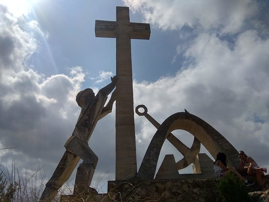 Moratalla, Spain: Ruta de senderismo subidad a la cruz