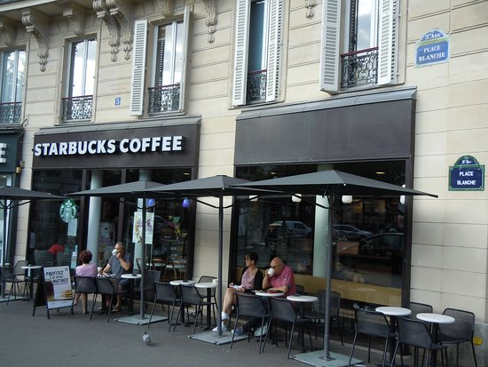 En Terrasse Du Starbucks Picture Of Starbucks Paris