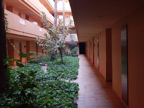 walkway in block 5
