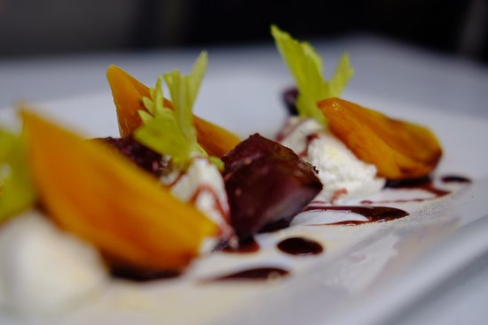 Barracuda Grill: Our Roasted Beet Salad is to die for, perfectly selected Beets served with local goat cheese