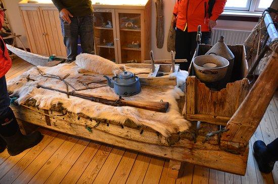 Qaanaaq, جرينلاند: Hundeschlitten
