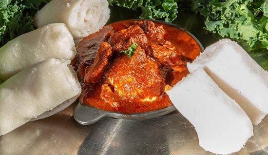 Addis in Cape Ethiopian Restaurant: Spicy Chicken Fillet ( doro wot)