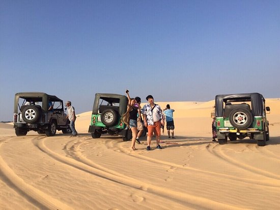 Hieu Motorbike and Jeep Tours