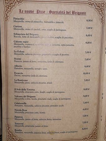 Vairano Patenora, Италия: Menù, antipasto, i dolci