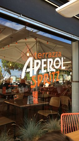 вид с терассы Picture Of Terrazza Aperol Spritz Barcelona