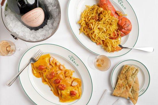 San Carlo - Bristol: San Carlo's famous tagliolini lobster and ravioli lobster