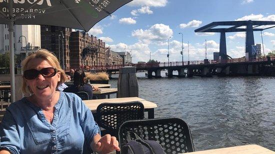 Wormer, Nederländerna: Outside terrace