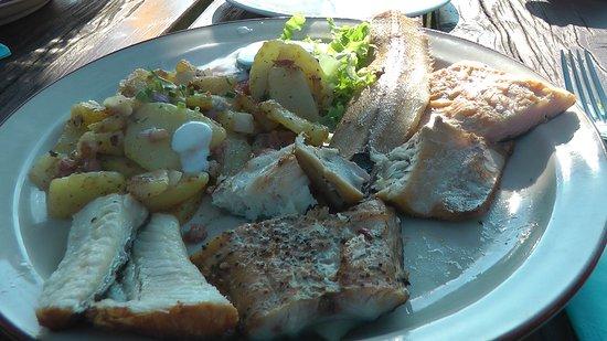 Insel Poel, Deutschland: Fischplatte