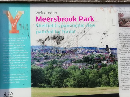 Meersbrook Park: another sign