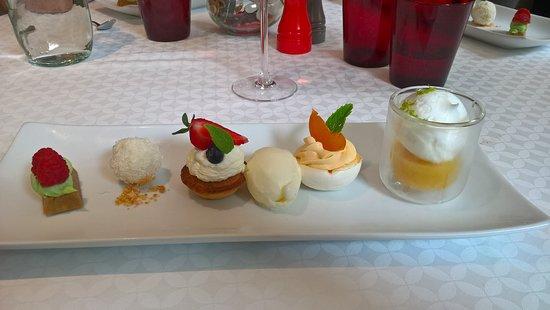 Le Val-d'Ajol, Frankreich: dessert menu plaisir