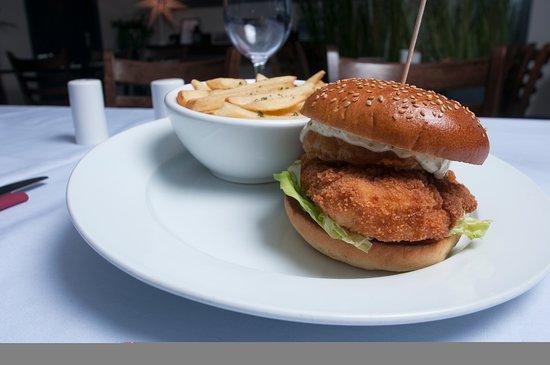 Skerries, Ιρλανδία: fillet of chicken burger