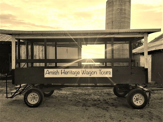 Ethridge, Теннесси: Step back in time with a visit to the Amish Heritage Farm Museum.