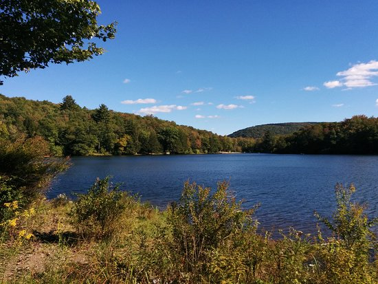 Andes, NY: View of Little Pond