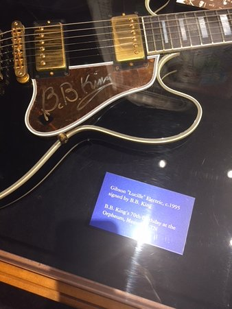 "Gateway To The Blues Visitor Center & Museum: ""Lucille"" B B Kings guitar"