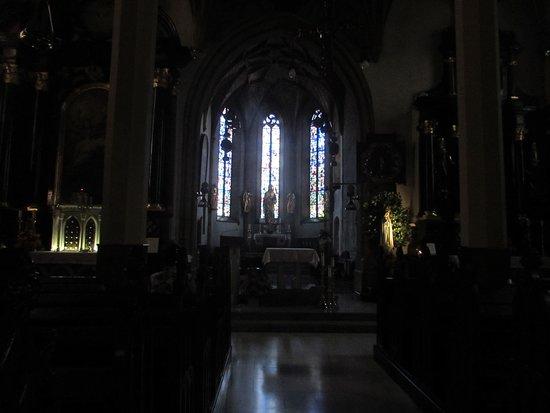 Župnijska cerkev Sv. Jakoba: altare maggiore